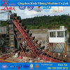 Chain Bucket Dredger with Engine Power