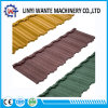 Forest Green Roofing Material Stone Coated Metal Nosen Roof Tile
