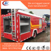 3815mm Wheelbase Installed Isuzu Npr Rescue Fire Truck Body