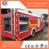 3815mm Wheelbase Installed Isuzu Npr Rescue Fire Truck Body