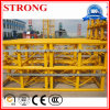 Mast Section for Luffing Split Square Tube Fixed Tower Crane