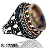 Hot Selling Copper Ring with Natural Stone for Man