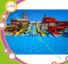 Outdoor Play Equipment Fiberglass Water Slide for Entertainment Park