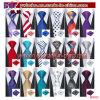 Mens Ties Silk Red Black Tie Sets Neckties Tie Hanky Cufflinks Tie Sets (B8052)