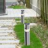 Stainless Steel Solar Power Supply LED Garden Lawn Pole Light