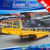 2016 Olympic Transporting Cargo Side Wall Lowboy Trailer for Brazil