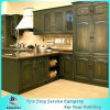 New Design China Soild Wood Kitchen Cabinet Second Modren