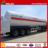 BPW Tri-Axle Cryogenic Liquid Transport LNG Tank Trailer