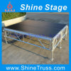 Aluminum Assemble Stage with Guardrail