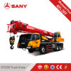 Sany Stc250 25 Tons 2012 Year Used Condition Second Hand Truck Mounted Crane with Euro III