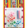Birthday Cake Craft Candles & Helicopter Shape Holders (GYCE0062)