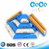 High Quality Coco Water Design Inflatable Aquatic Stair Slide (LG8088)