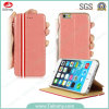 Factory Direct Flip Wallet Folio Mobile Cell Phone Case for iPhone 6