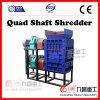Quad Shaft Shredder for Shredding Tire Wood Plastic PP Rubber