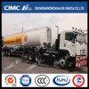 Cimc Huajun Aluminium Alloy Oil Tanker with Shell Painting