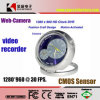 CMOS HD Hidden Clock Camera with Motion Detector