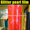 High Quality Flexible Pearl Glitter Polyester Film for Car Wrap