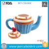 Unique Sweet Cake Ceramic Cake Tea Pot