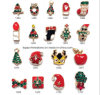 2016 Factory Sale Christmas Nail Art Alloy Wholesale Christmas Tree Nail Accessories (1684-1701)