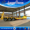 Low Loader Semi Trailer, 3 Axle Excavator Transport Semi Trailer for Sale