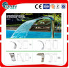 Decoration SPA Waterfall in Swimming Pool with LED Light