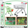 Steel Powder Coating Supermarket Shopping Trolley