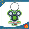High Quality Customized Cartoon PVC Key Chain with Smile Face Design at Factory Price
