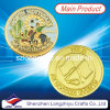 Souvenir Custom Coin Medal/Sports Champion Gold Soccer Badge Metal Coins (LZY1300062)
