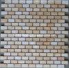Strip Tile, Beige Marble Stone Mosaic (HSM116)