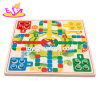New Hottest 2 in 1 Game Wooden Checkers, Ludo Board Game for Children W11A064