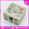 Wholesale Cheap Custom Beautiful Wooden Box with Lock W18A026
