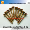 Tianjin Manufacturer Yellow Zinc Bugle Head Drywall Screws