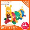 Kindergarten Plastic Toy Caterpillar Drill Holes