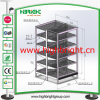 Heavy Duty Metallic Advertising Display Supermarket Shelf