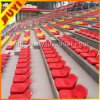 Outdoor Football Metal Frame HDPE Plastic Retractable Bleacher Blow Molding UV Fading Used Sport Seats