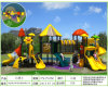 Kaiqi Medium Sized Forest Themed Children′s Playground with Slides (XBSN0511A)
