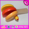 High Quality Wooden Interesting Castanets, Children Musical Instrument Wooden Hand Castanets W08k021A