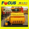 Hot Sale Js500 500L Smalltwin Shaft Concrete Mixer