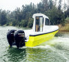 CE Certification Outboard Engine Type Fiberglass Boats for Fishing