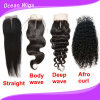 Virgin Remy Cambodian Hair Silk Top Body Wave Closure (CL-018)