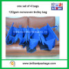 Folding Style Nonwoven Easy Bag for Supermarket Trolley