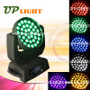 LED Stage Lighting 36PCS *18W Rgbwauv 6in1 Moving Head Light
