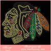 Iron on Strass Crystal Rhinestone Heat Transfer Designs Hot Fix Motifs