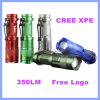 CREE XPE 3 Zoom Mode Aluminum LED Emergency Flashlight