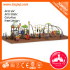 Ce Approved Big Playsets Kids Play Structure Plastic Slides
