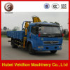4X2 Pick up Truck with 2-3 Tons Crane
