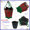 New Products Wholesale Custom Decorate Leather Storage Basket (4379R3)