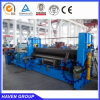 W11S-12X4000 hydraulic universal three rollers plate rolling machine
