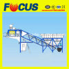 25m3/H - 75m3/H Trailer Concrete Batching Plant with Truck Chassis