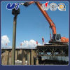 Excavator Attachments Hydraulic Vibro Pile Hammer